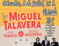 ..Ya sabéis que os vamos anunciado los conciertos programados que tiene M. Talavera durante la semana…ahí va:
